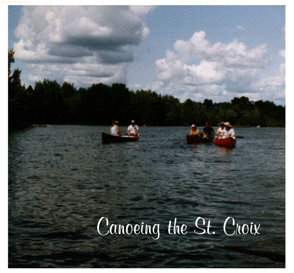 Canoeing the St. Croix